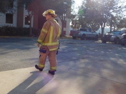 """In 2016, the SAFD received an average of 12 calls per shift. """"On a typical day, we might receive anywhere between eight and 20 calls though,"""" said firefighter Abby Taylor."""