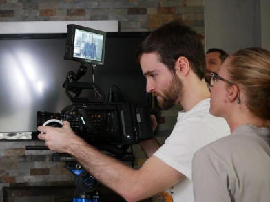 Director and Actress Brittany Groy and Director of Photography Joshua Noel